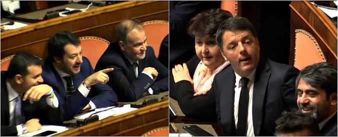 """Corriere della Sera: """"Salvini e Renzi si sentono regolarmente per consigli"""". E cita un gentiloniano: """"È per logorare M5s"""""""
