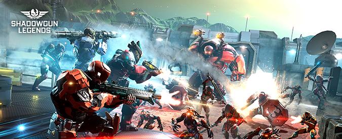 Shadowgun Legends, disponibile gratuitamente negli store lo shooter-rpg per Android e iOS