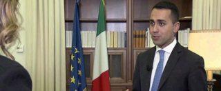 """Di Maio al Tg1: """"Apertura a tutti sui temi per formare il governo. Io il premier, si tenga conto del voto degli italiani"""""""