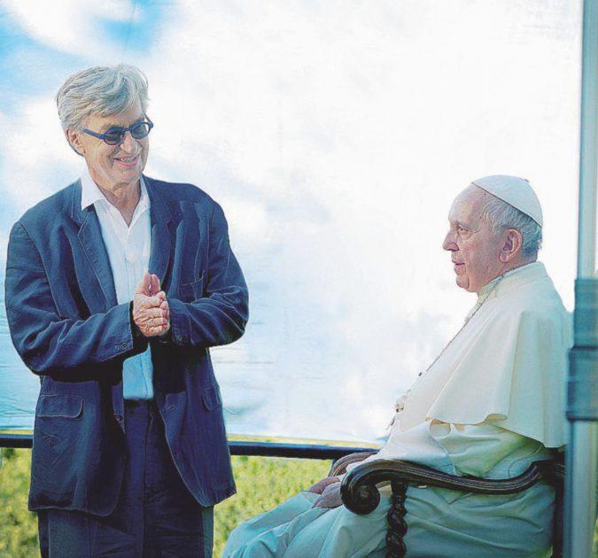 Wim Wenders segue Bergoglio: le prime foto del docufilm