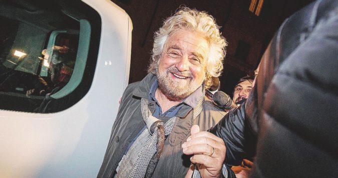 """Grillo torna in teatro: """"Ora andiamo anche al governo, ma io scherzavo…"""""""
