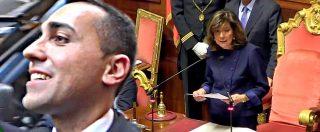 """M5s vota la turbo-berlusconiana Casellati al Senato. Di Maio e gli altri tra fughe e distinguo: """"Non è patto col diavolo"""""""