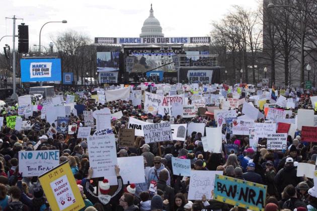 Usa, in mezzo milione a Washington per la marcia contro le a