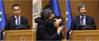 """Camere, Di Maio annuncia l'accordo: """"Roberto Fico sarà presidente della Camera. Al Senato sosteniamo Casellati"""""""