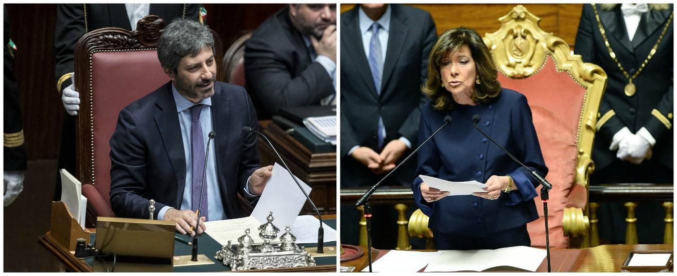 Fico alla Camera e Casellati al Senato: chi vince, chi perde