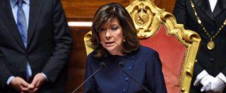 """Vitalizi, Casellati segue Fico: """"Senatori Questori avviino istruttoria con i colleghi della Camera. Spero in rapide soluzioni"""""""