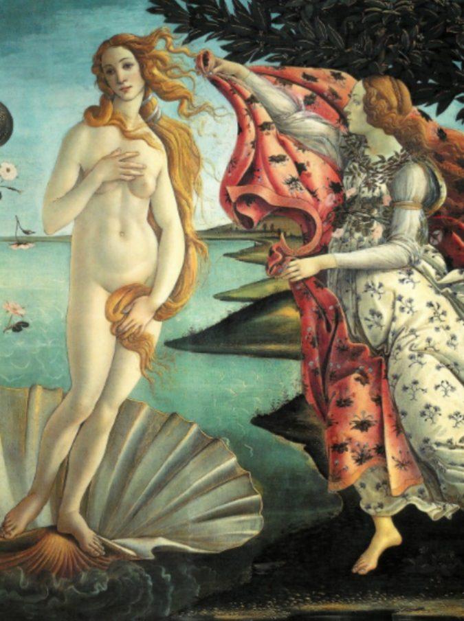 Botticelli, c'è un simbolo nascosto sotto il manto della Venere