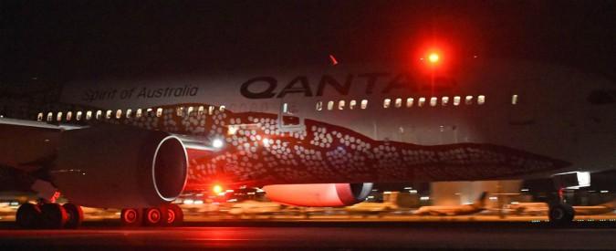 Australia-Inghilterra, inaugurato il primo volo diretto: viaggio di 17 ore e 20 minuti