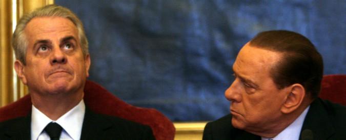 """Berlusconi: """"L'idea di Dell'Utri di scappare in Libano? Stupidità. Non poteva non sapere che c'era l'estradizione"""""""