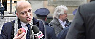 """Grillo in Tribunale contro l'ex attivista, che gli lancia una mela marcia: """"Dove hai messo i soldi del blog?"""""""