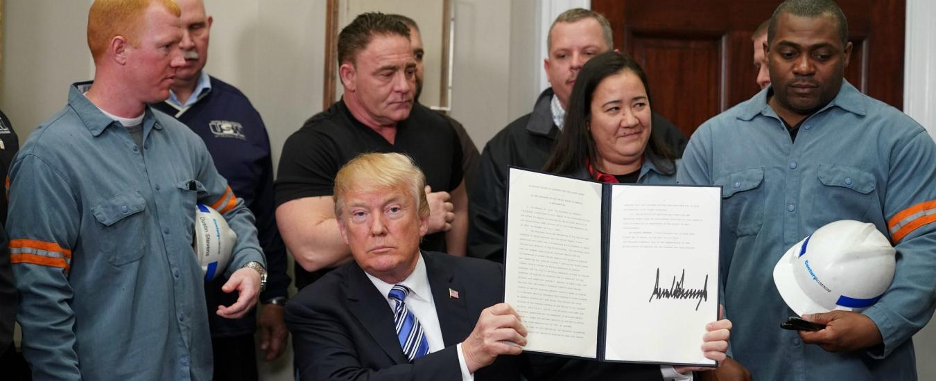 Trump, i dazi imposti alla Cina hanno a che fare con la vendita di Shale gas
