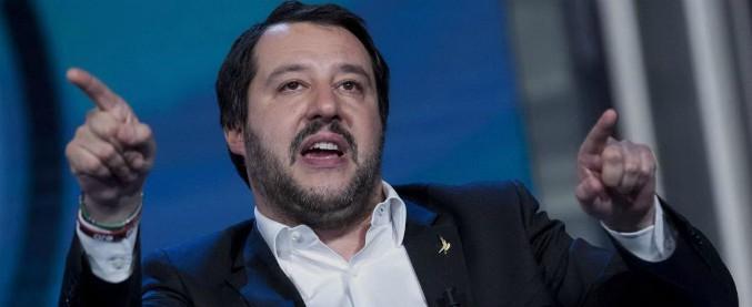 """Nuovo governo, Salvini: """"Ritorno al voto? Oggi è al 50 per cento. Se Di Maio vuole governare col Pd, auguri"""""""