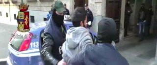 Blitz antiterrorismo, il video dell'arresto dell'italo marocchino accusato di far parte dello Stato islamico