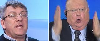 """Landini vs Cazzola: """"Chi ha fatto legge Fornero e Jobs act non esiste quasi più"""". """"Lei vuole il Paese col culo scoperto"""""""