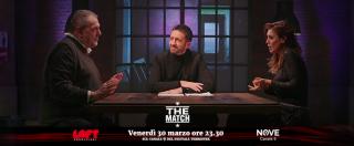 """The Match, il carnivoro Vissani vs la vegana Martani: """"Carcere per i genitori che portano i bambini a mangiare hamburger"""""""