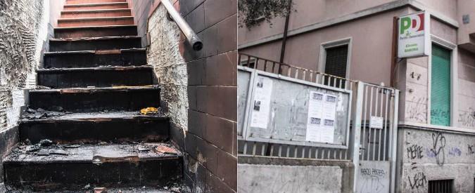 """Milano, incendiato ingresso del circolo Pd di Barona. """"Non ci lasciamo intimidire"""""""
