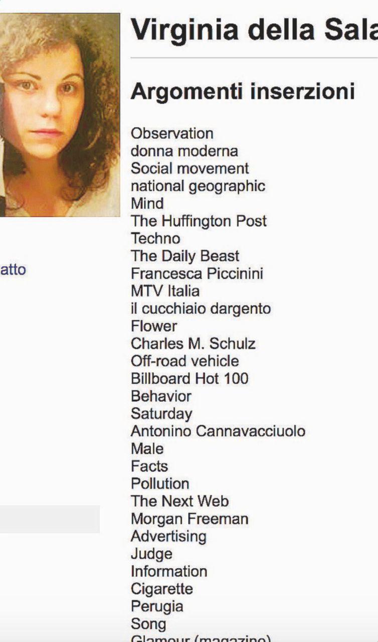 Spot – Facebook sa quali inserzioni pubblicitarie sono state cliccate. Nella foto, l'elenco preso dall'account di chi scrive. Gli inserzionisti hanno le informazioni raccolte dal social