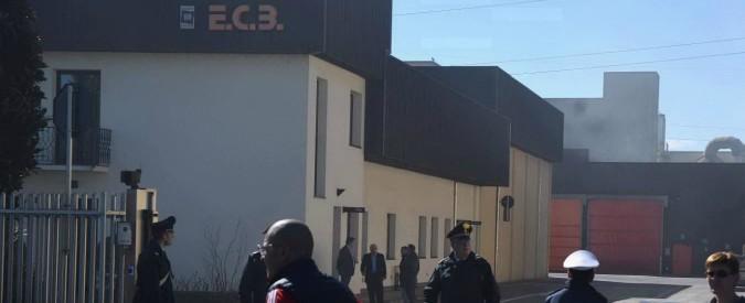 Treviglio, due operai morti nell'esplosione di un serbatoio in un'azienda di mangimi. Erano intervenuti per un allarme