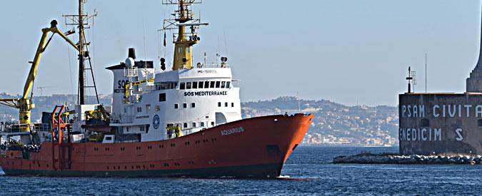 """Migranti, dopo la Open Arms anche la nave Aquarius costretta ad affrontare il """"coordinamento"""" libico"""