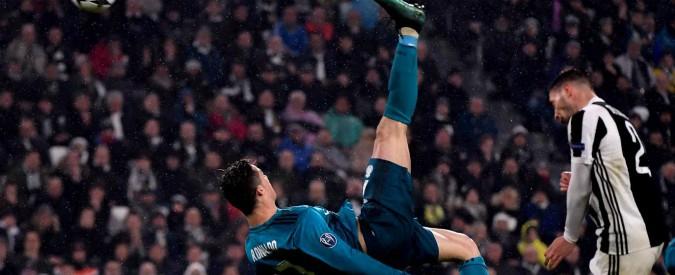 Juve-Real Madrid: 0-3. Cristiano Ronaldo da antologia, bianconeri in ginocchio nonostante una buona prestazione