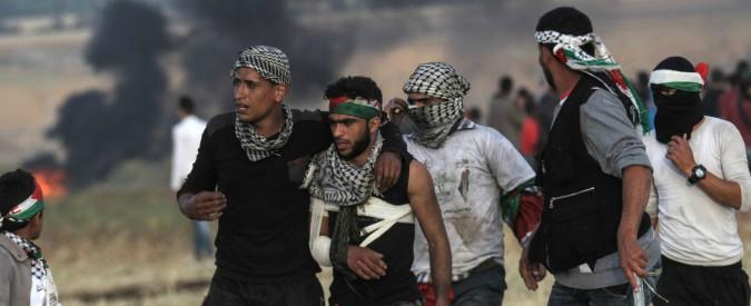 """Gaza,  agenzia palestinese: """"Dimostrante ucciso dagli spari dell'esercito israeliano"""""""