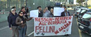 """Terra dei fuochi, parenti delle vittime contro la scarcerazione dei fratelli Pellini: """"Hanno devastato la nostra terra, devono pagare"""""""
