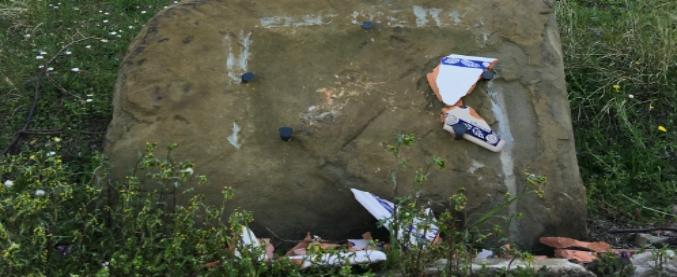Rimini, danneggiata la targa dedicata alla memoria dell'ispettore Filippo Raciti