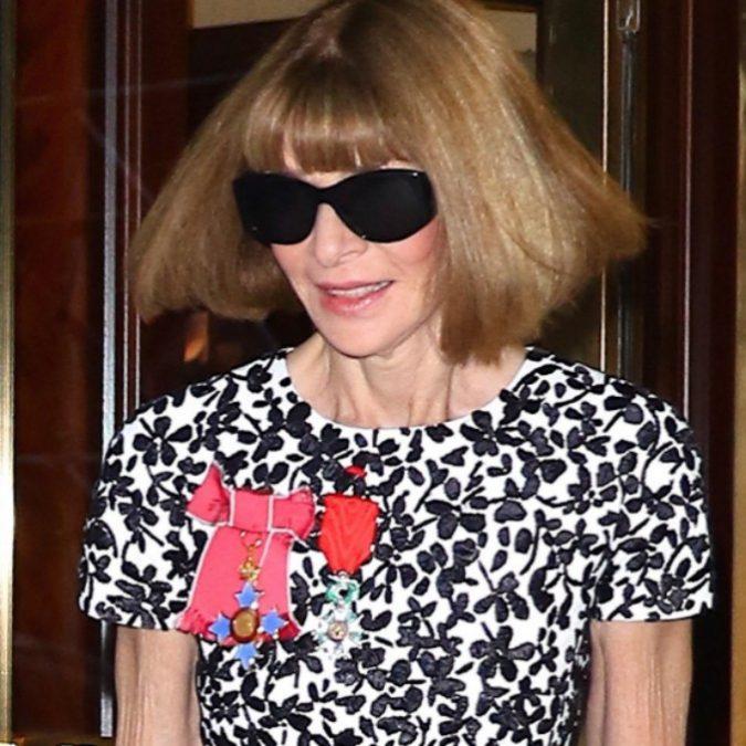 Anna Wintour via da Vogue