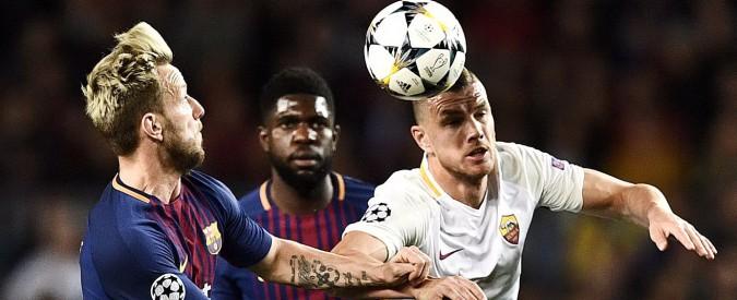 Champions League, la Roma tracolla al Camp Nou: finisce 4-1 per il Barcellona. I giallorossi piegati da due autoreti