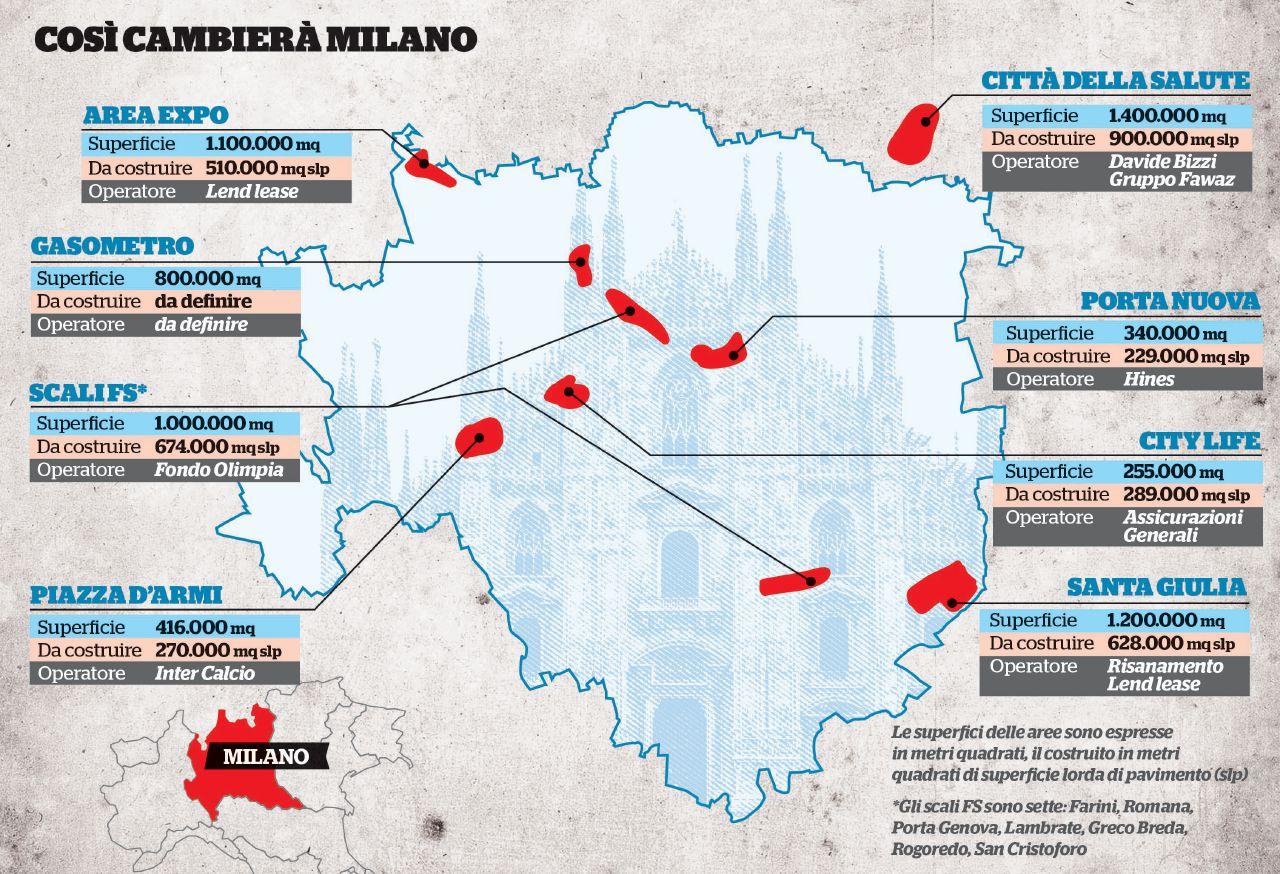 Ancora grattacieli e cemento, il nuovo sacco di Milano