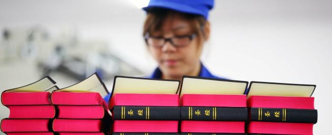 """Cina, vietata vendita online della Bibbia: """"Ordine di Taobao ai rivenditori sul web"""""""
