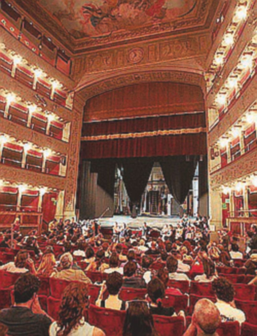 Roma, prima riapertura per il Teatro Valle con Paladino