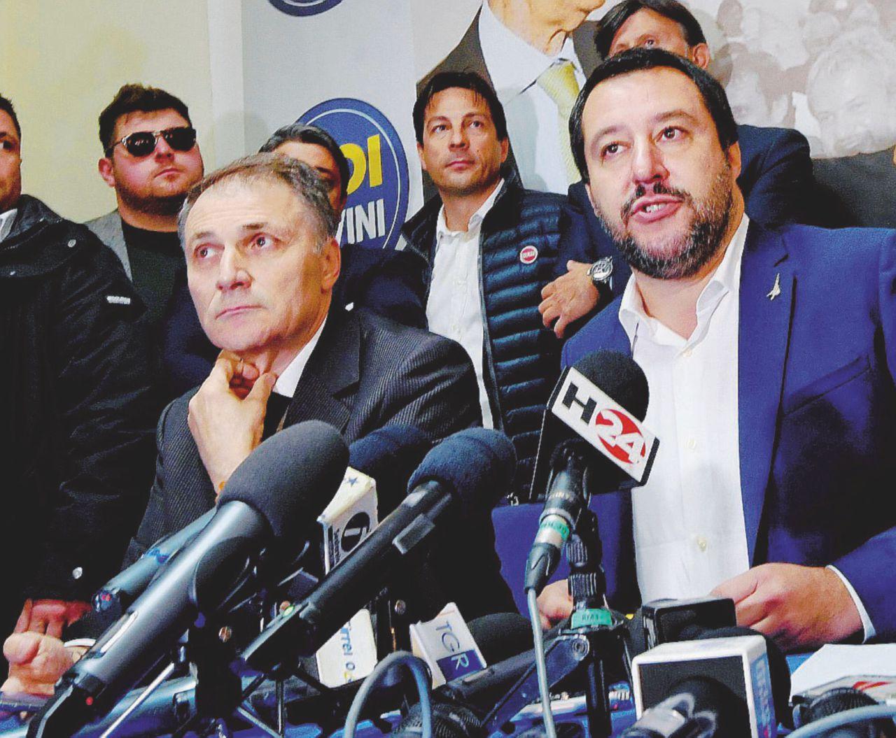 """""""Posti di lavoro per avere i voti"""". Tre arresti nella Lega siciliana"""