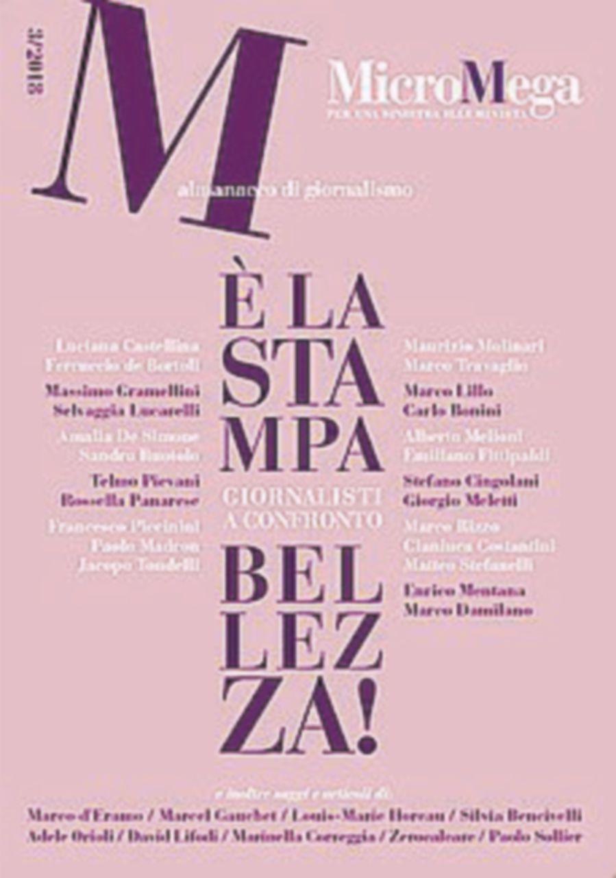MicroMega, a Roma si presenta il volume sullo stato dei giornali