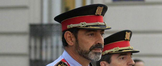 Catalogna, ex capo dei Mossos a processo per sedizione e organizzazione criminale