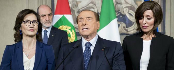 """Governo, Berlusconi respinge le proposta della Lega: """"Appoggio esterno a esecutivo con M5s? Forza Italia non accetta veti"""""""