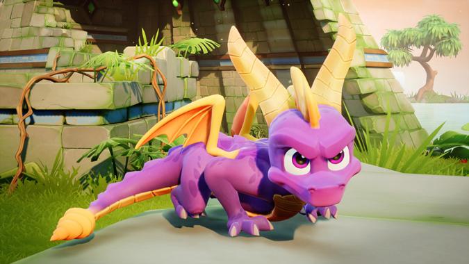 Spyro: Reignited Trilogy, nuova grafica e gameplay danno forza al ritorno del draghetto viola. Doppiaggio troppo serio