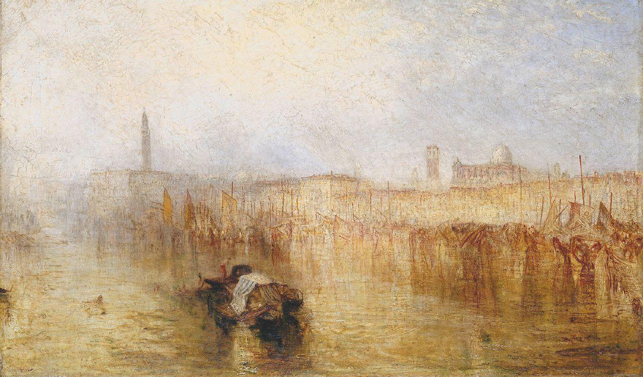 Turner a Roma l'irrottamabile illuminato
