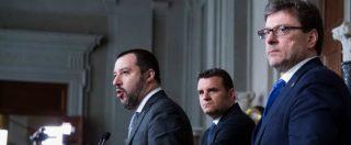 """Salvini e Berlusconi: """"Ora insieme da Mattarella"""". Il leader della Lega: """"L'unico governo possibile è noi con il M5s"""""""