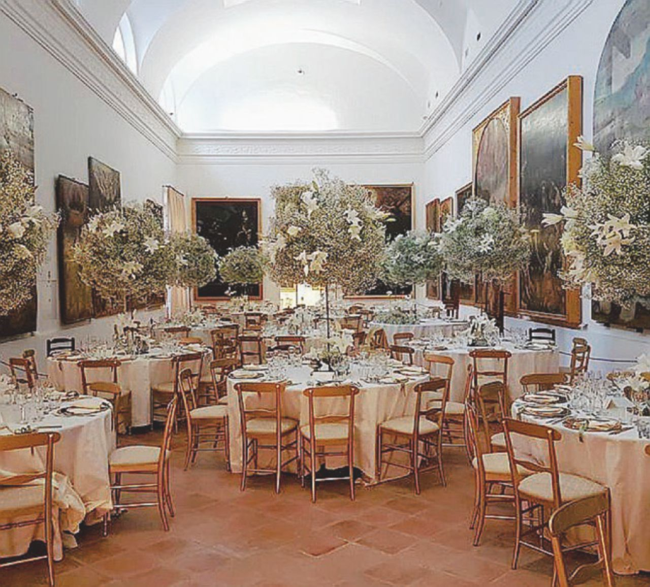 Faenza, Pranzo di nozze al Museo