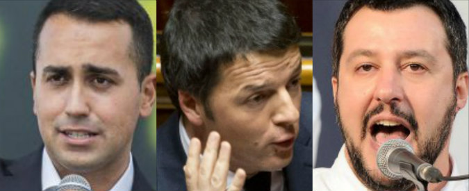 Di Maio, Renzi e Salvini: è questo il risultato del 'largo ai giovani'?