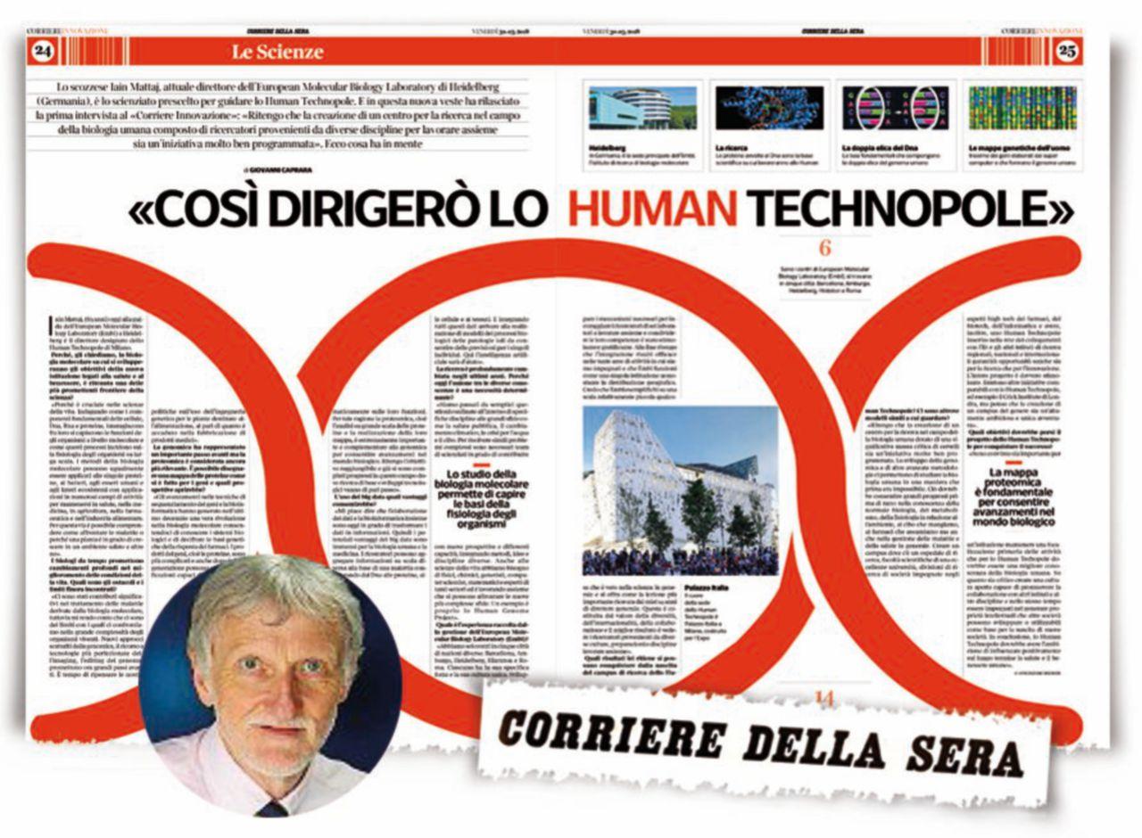 """""""Non dirigo lo Human Technopole"""". Il """"giallo"""" del Corriere è una fake news"""