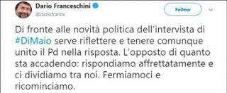 """Pd, il sospetto di Repubblica: """"Gruppi di account iperattivi in rete"""". Orlando: """"Involuzione del dibattito interno"""""""