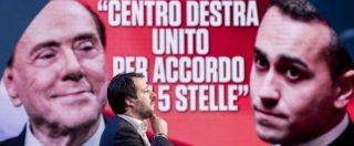 """Centrodestra, vertice ad Arcore: """"Unità della coalizione"""". Ora è ufficiale: Pd in un governo o nuove elezioni"""