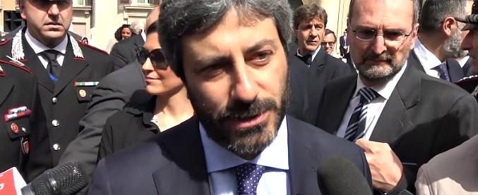 """Migranti, il presidente della Camera Fico: """"Io i porti non li chiuderei"""". Salvini: """"Punto di vista personale"""""""