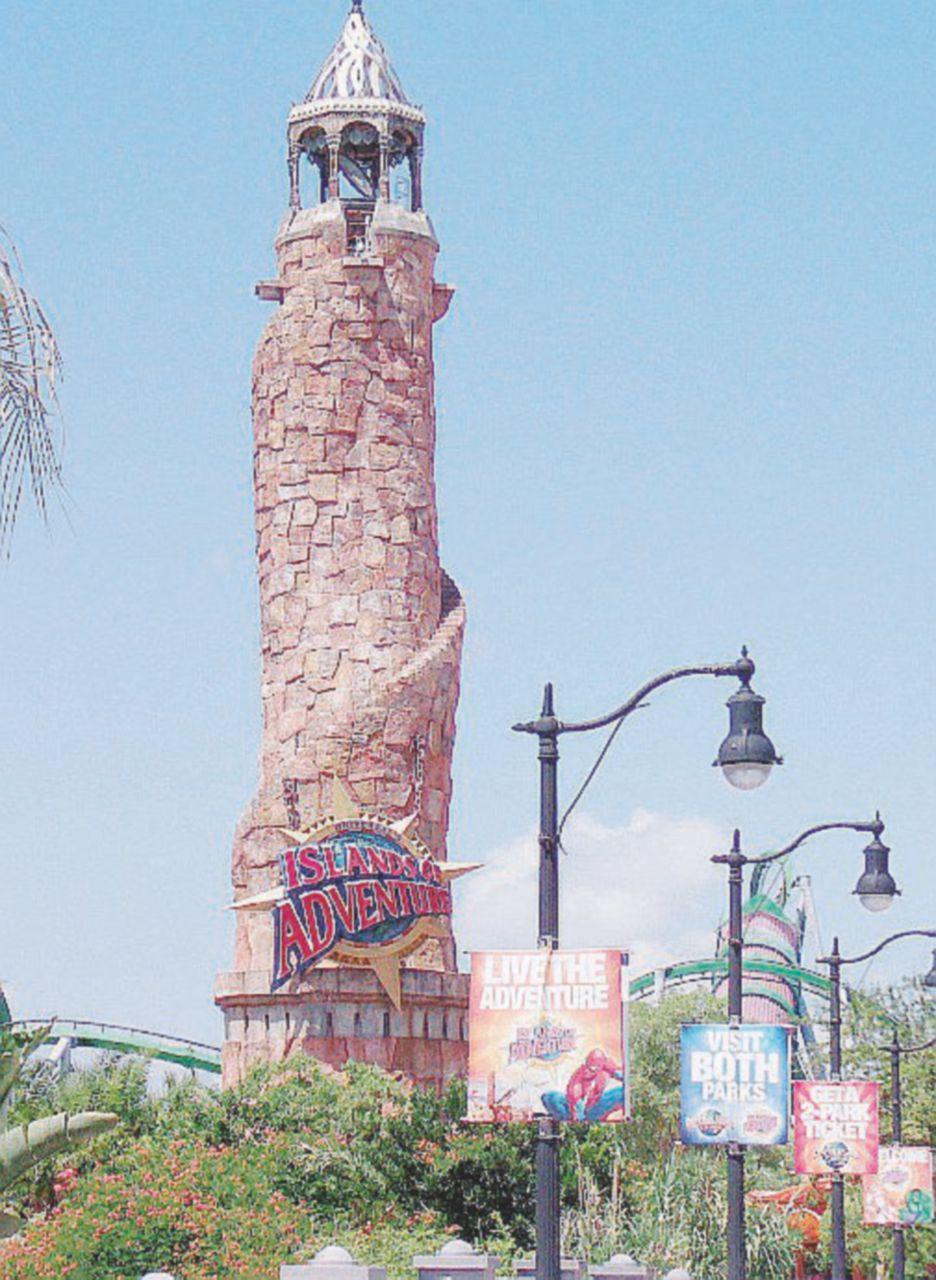 In Florida tra Atlantide, dinosauri e Harry Potter