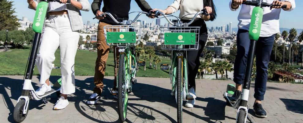 San Francisco, è allarme scooter elettrici a noleggio. Occupano troppo spazio