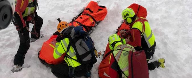 Valanga a Pila, indagati sei istruttori del Cai per la morte di due scialpinisti