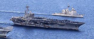 """Siria, sale la tensione nel Mediterraneo """"Cacciatorpediniere Usa va verso Tartus"""" """"Sorvolato a bassa quota da caccia russi"""""""