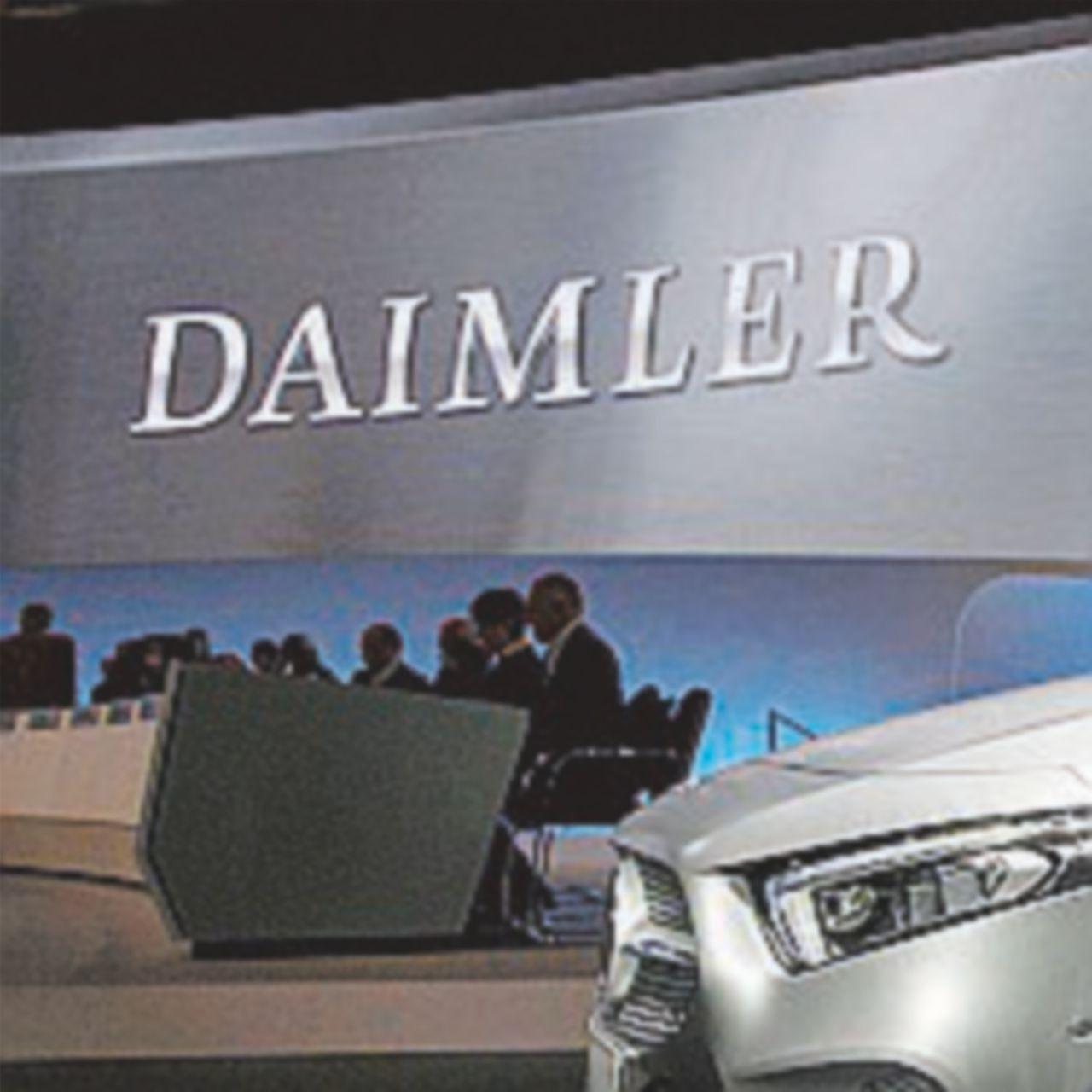 Daimler e la questione della Geely da sbrogliare